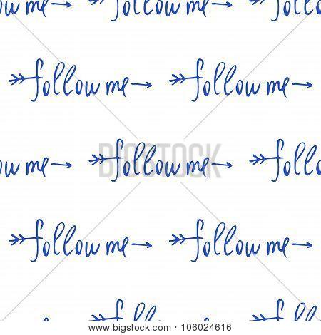 Follow me. Social net.