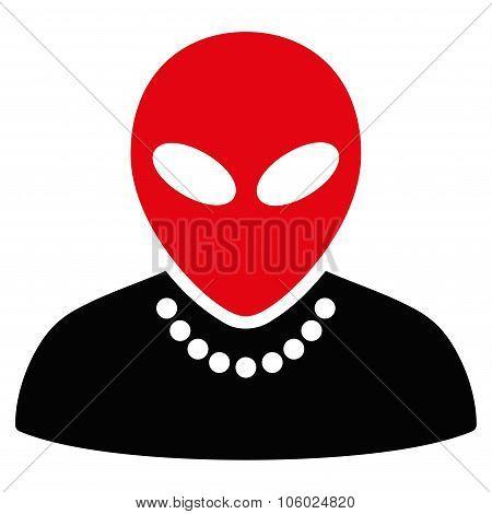 Humanoid Flat Icon