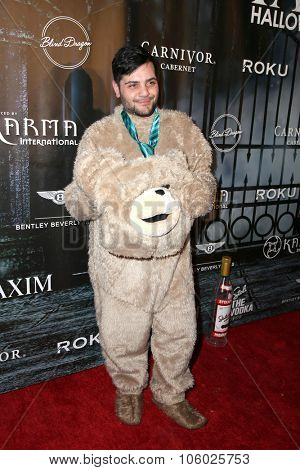 LOS ANGELES - OCT 24:  Michael Costello at the MAXIM Magazine's Official Halloween Party at the Private Estate on October 24, 2015 in Beverly Hills, CA