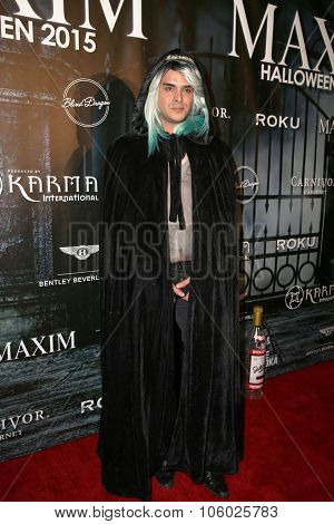 LOS ANGELES - OCT 24:  Guest at the MAXIM Magazine's Official Halloween Party at the Private Estate on October 24, 2015 in Beverly Hills, CA