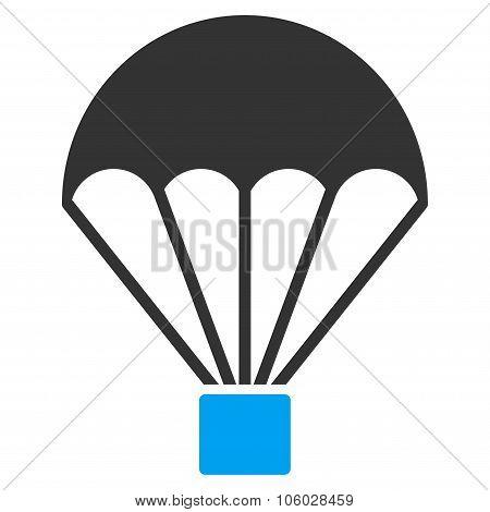 Parachute Flat Icon