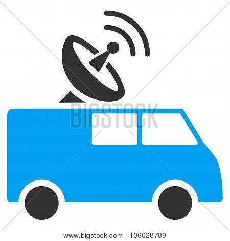 Radio Control Car Icon