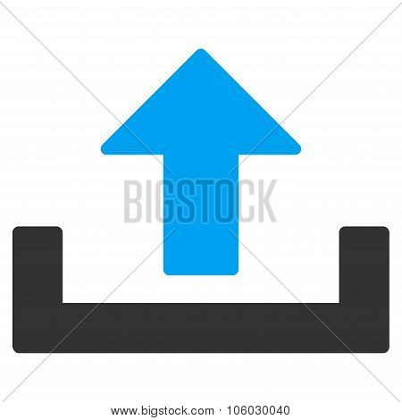 Upload Container Icon