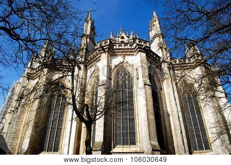 Cathedral In Nantes