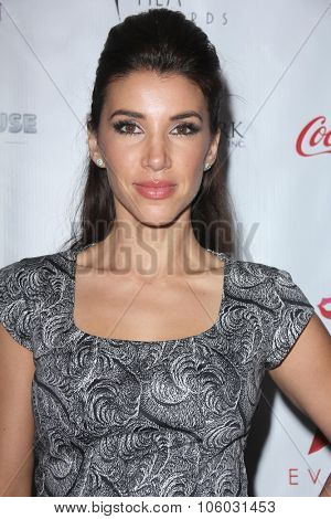 LOS ANGELES - OCT 25:  Adrianna Costa at the Internation Film Fashion Awards at the Saban Theater on October 25, 2015 in Los Angeles, CA
