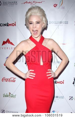 LOS ANGELES - OCT 25:  Alessandra Torresani at the Internation Film Fashion Awards at the Saban Theater on October 25, 2015 in Los Angeles, CA