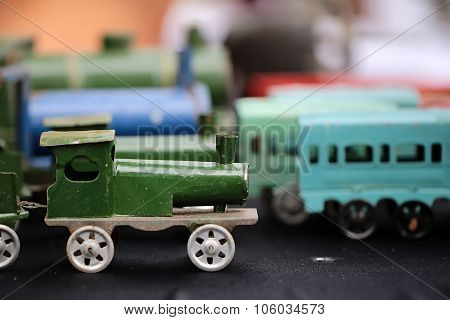 Scaled Retro Steam Train