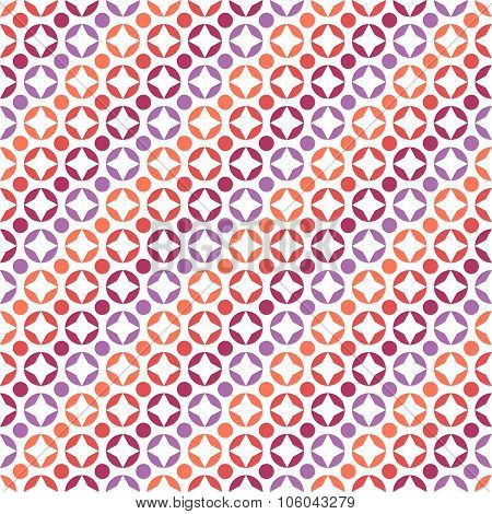 Abstract seamless pattern with circles. Endless texture for wallpaper, fill, web page background, su