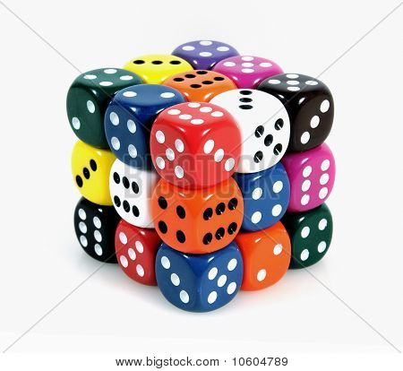 Cube of dices