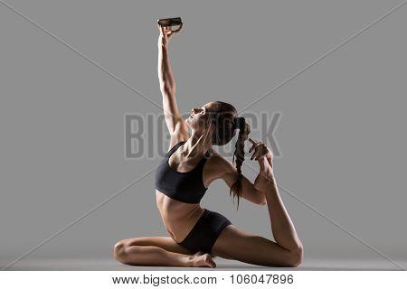 Yogi Girl Making Self Portrait