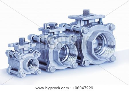 Group 3 Valves, Different Sizes