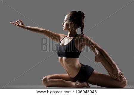 Mermaid Yoga Pose