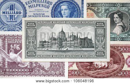Hungarian  Banknote.