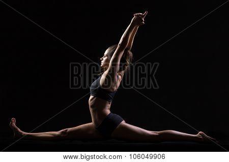 Monkey Yoga Pose
