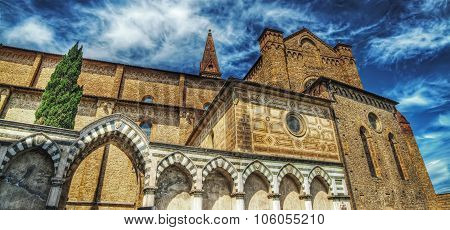 Santa Maria Novella Cathedral In Hdr