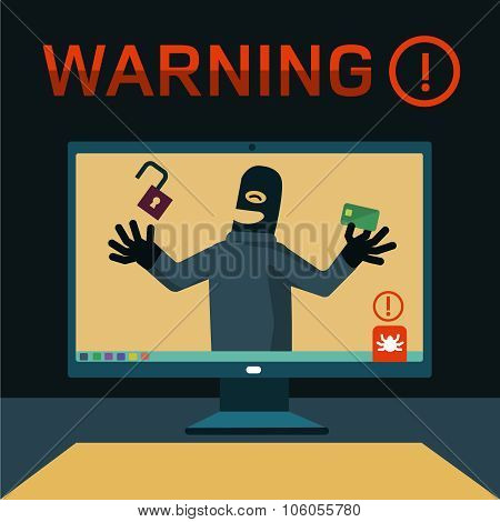 hackers attacked computer