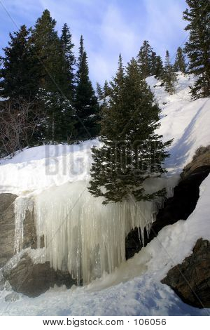 Bear Lake Ice Falls