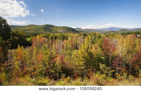 New Hampshire Fall Day