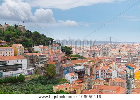 Saint George's Castle , Lisbon, Portugal