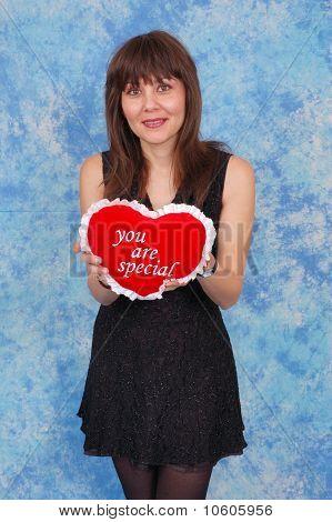 Romantic Valentines Woman