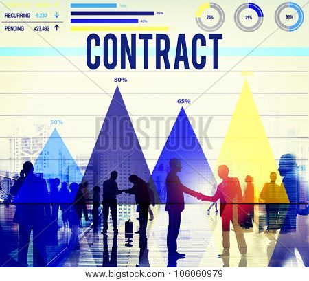 Contract Deal Commitment Agreement Analysis Value Concept