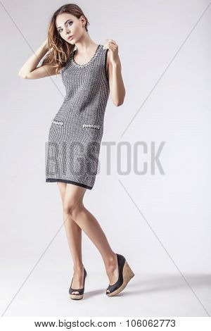 Fashion Model Beautiful Woman Studio Photography