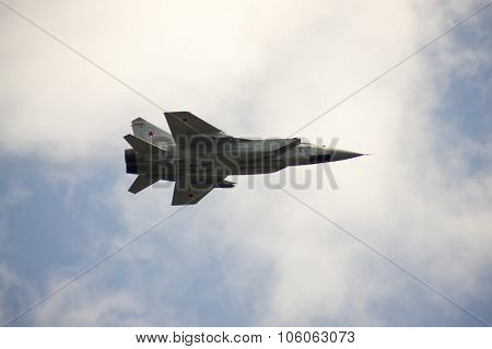 Su-24 Performing Aerobatics At An Airshow