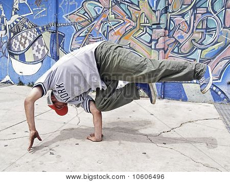 Breakdancer In Motion