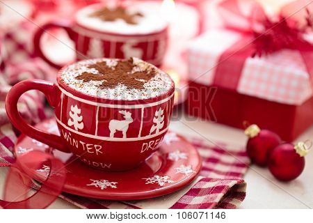 Hot Chocolate For Christmas Day.