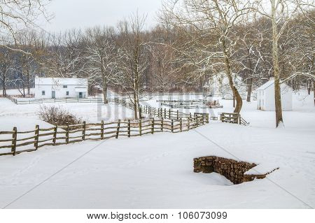 Hopewell Village Winter