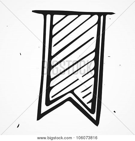 Hand Drawn Bookmark