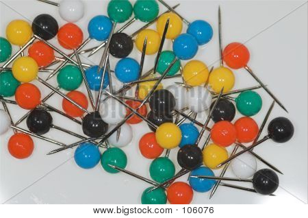 Multicoloured Pins 3