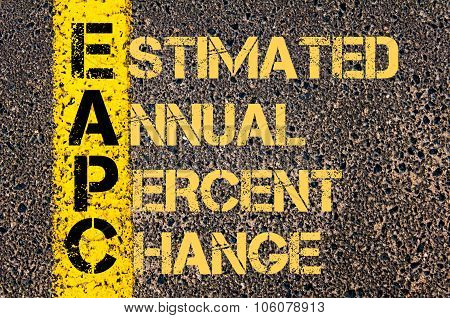 Business Acronym Eapc As Estimated Annual Percent Change