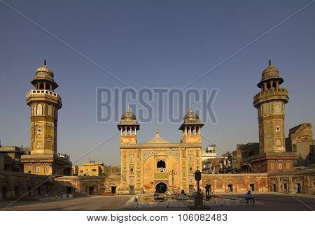 Wazir Khan Mosque By Dusk