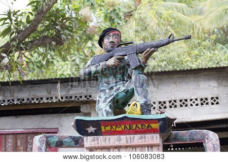 Liberation Monuments In East Timor