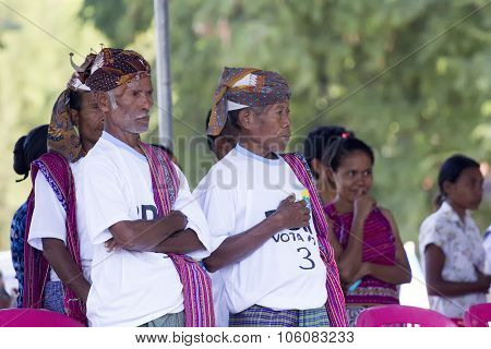 Traditional Leaders In East Timor