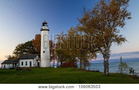 Autumn On The Great Lakes Coast