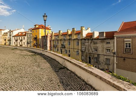 View of old Lisbon