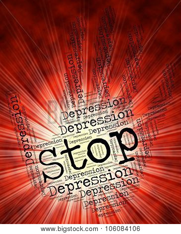 Stop Depression Means Lost Hope And Caution