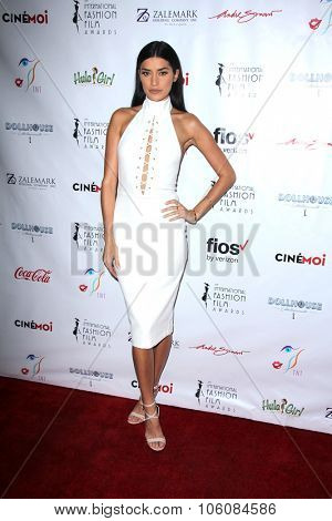 LOS ANGELES - OCT 25:  Nicole Williams at the Internation Film Fashion Awards at the Saban Theater on October 25, 2015 in Los Angeles, CA