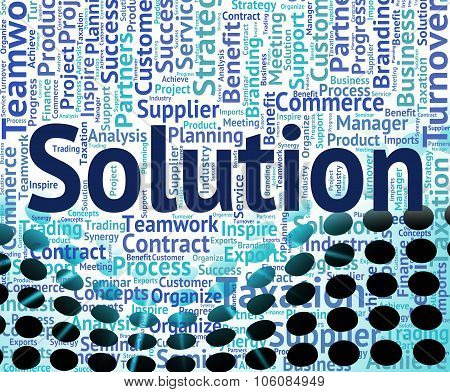 Solution Word Means Solved Successful And Succeed