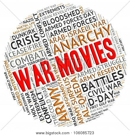 War Movies Shows Motion Picture And Battles