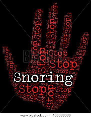 Stop Snoring Indicates Obstructive Sleep Apnea And Osa