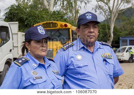 Nicaraguan Police Officers