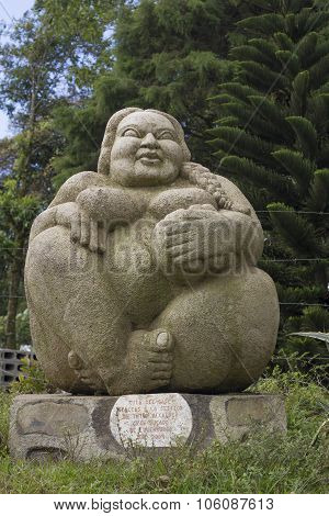 Pachamama, Big Woman Sculpture