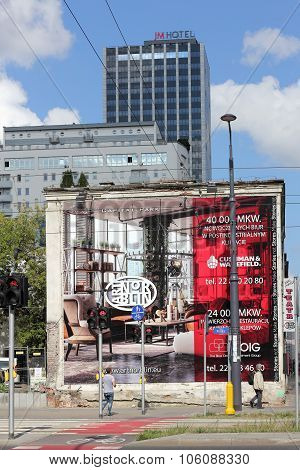 Advertising At The Theatre Scena Prezentacje In Warsaw