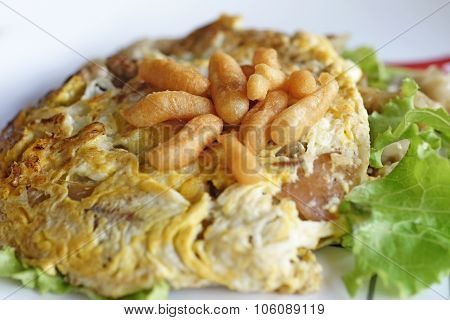 Roasted Chicken Noodle Or Fried Noodle Chicken