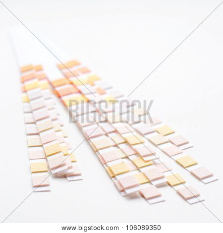 Group Of Test Strips