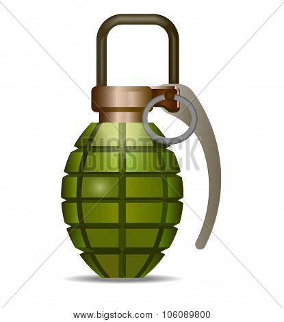 grenade - vector illustration