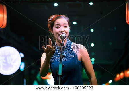 Chinese Female Singer